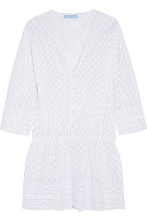 MELISSA ODABASH Kylie embroidered georgette dress