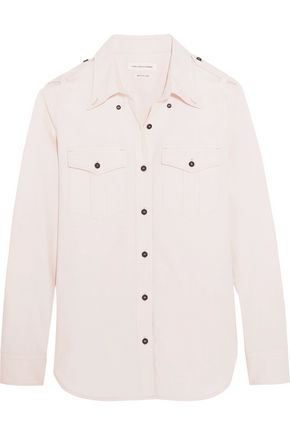 ISABEL MARANT ÉTOILE Wandy cotton-chambray shirt