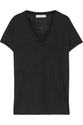 IRO Archie slub linen-jersey T-shirt
