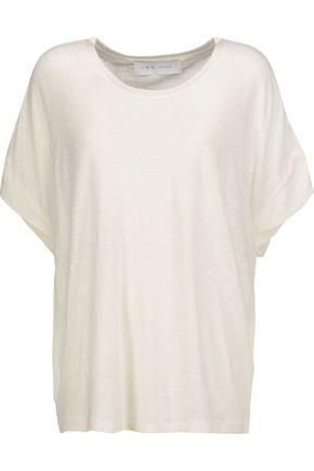 IRO Ashanti slub stretch-jersey T-shirt