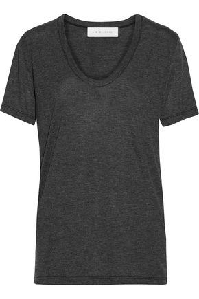 IRO Britney stretch-jersey T-shirt