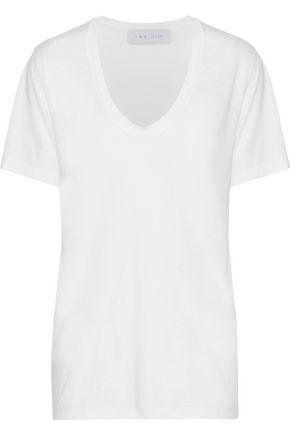 IRO Britney stretch-jersey T-shirt