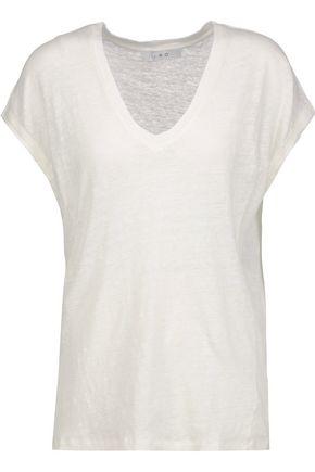 IRO Simza slub linen T-shirt