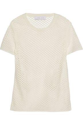 IRO Zana perforated cotton-jersey T-shirt