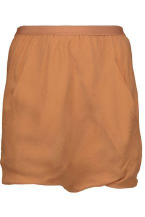 RICK OWENS Bud silk-crepe shorts