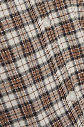 CURRENT/ELLIOTT The Slim Boy checked broadcloth shirt