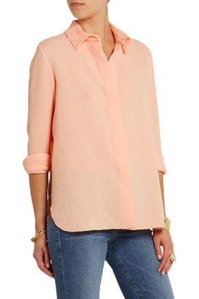 SEE BY CHLOÉ Pleated cloqué shirt