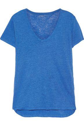 MAJESTIC Linen T-shirt