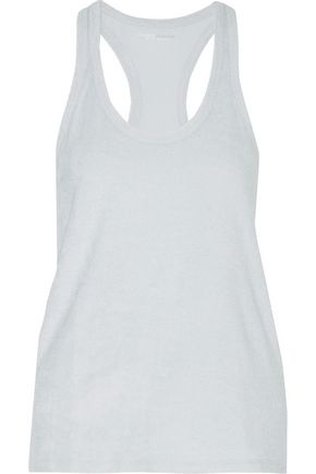 MAJESTIC Cotton and modal-blend terry tank
