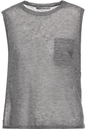 AUTUMN CASHMERE Slub cashmere T-shirt