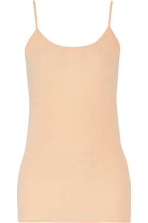 VINCE. Stretch-modal and wool-blend tank
