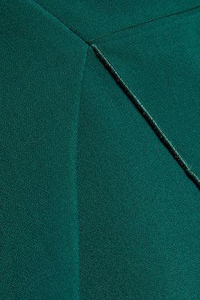 ANTONIO BERARDI Asymmetric crepe peplum top