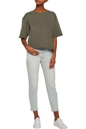 CURRENT/ELLIOTT Cotton-jersey sweatshirt