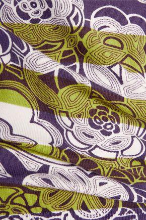 M MISSONI Printed stretch-cotton top