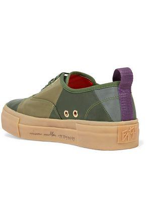 EYTYS Mother Simon Mullan paneled shell platform sneakers