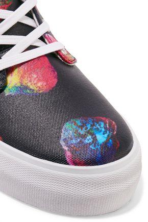 EYTYS Odyssey suede platform sneakers