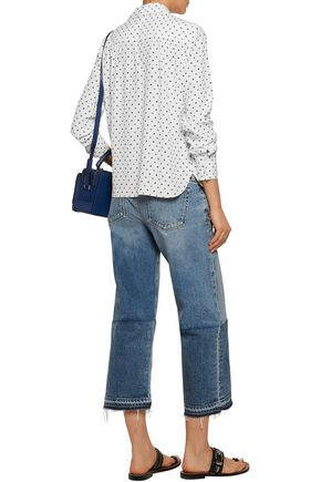 SEE BY CHLOÉ Floral-print crepe de chine shirt