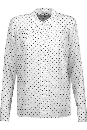 SEE BY CHLOÉ Printed crepe de chine shirt