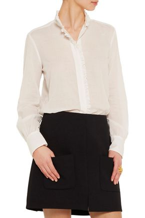 SEE BY CHLOÉ Ruffled cotton-voile blouse
