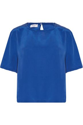 EQUIPMENT Brynn washed-silk top