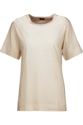 JOSEPH Slub wool-jersey T-shirt