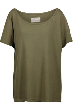 CURRENT/ELLIOTT The Oversize cotton-jersey T-shirt