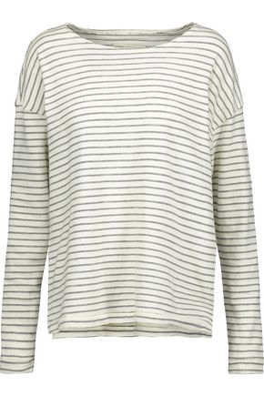 CURRENT/ELLIOTT The Breton striped cotton top