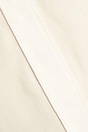 BELSTAFF Nayland satin-trimmed crepe top