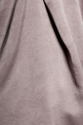 RTA Lilian layered washed-silk camisole