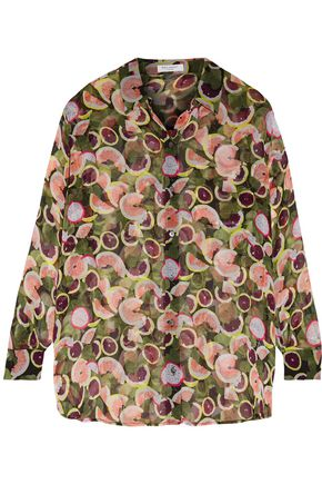 EQUIPMENT Daddy printed silk-chiffon shirt