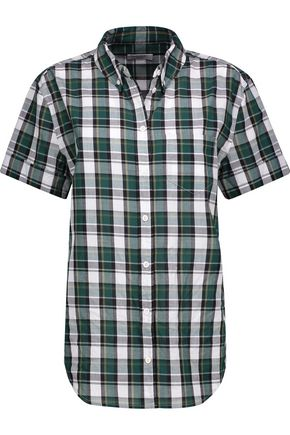 EQUIPMENT Betty plaid cotton shirt