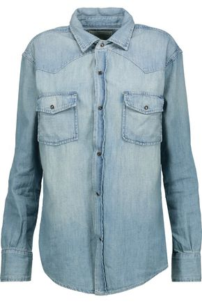 CURRENT/ELLIOTT The Western denim top
