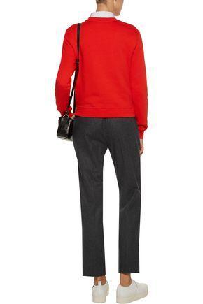 CARVEN Appliquéd cotton sweatshirt