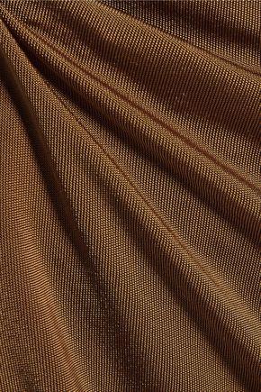 ZIMMERMANN Chroma belted stretch-jersey tunic