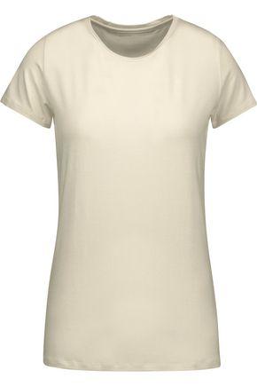 MAJESTIC Slub-jersey T-shirt