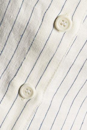 SEA Striped linen top