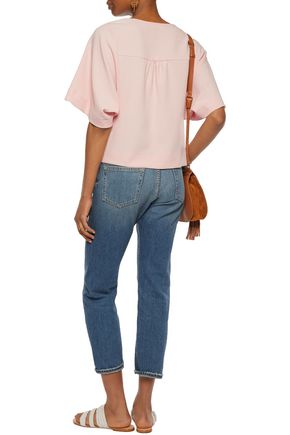 SEE BY CHLOÉ Crepe top