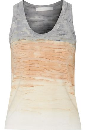 KAIN Beryl dégradé stretch cotton and modal-blend tank