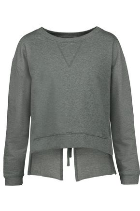 W118 by WALTER BAKER Luca open-back stretch-cotton jersey sweatshirt
