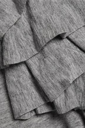 MARISSA WEBB Mariposa ruffled modal-blend top