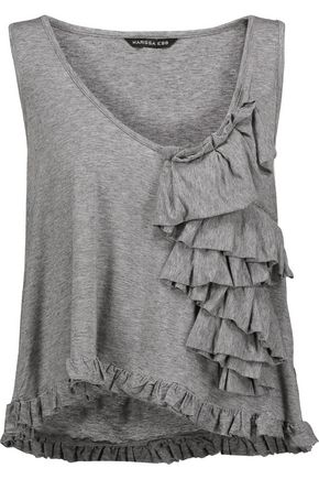MARISSA WEBB Mariposa ruffled modal-blend top
