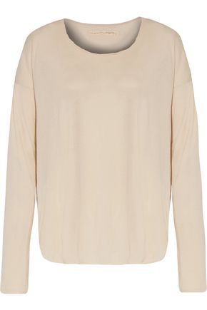RAQUEL ALLEGRA Cotton-jersey top
