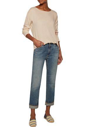 RAQUEL ALLEGRA Cotton-jersey top