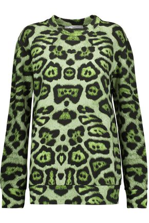 GIVENCHY Leopard-print cotton sweatshirt