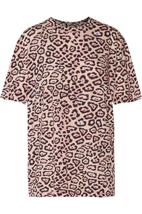 GIVENCHY Leopard-print cotton-jersey top ... 7e9c5e412