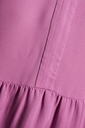 JOIE Forresto ruffled silk crepe de chine blouse