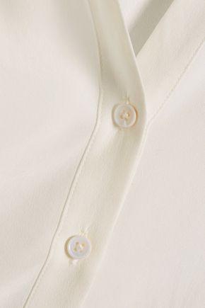 JOIE Nile tie-neck silk crepe de chine blouse