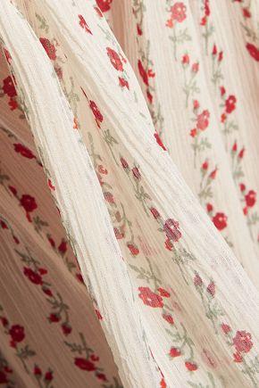 JOIE Printed silk crepe de chine blouse
