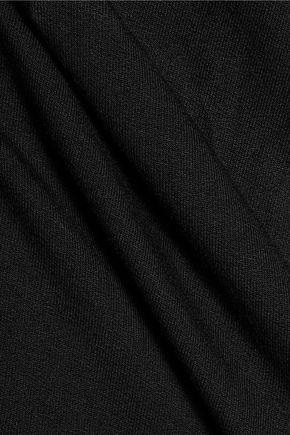 MAJESTIC Cutout stretch-jersey T-shirt