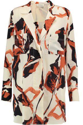 BY MALENE BIRGER Printed silk shirt